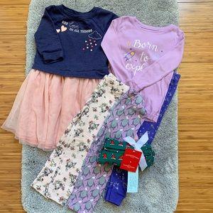 Toddler girl clothes bundle 4T